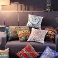 Nouveau coussin de coussin de canapé de broderie de décoration d'intérieur de mode