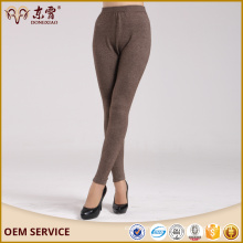 Wholesale Manufacturer computer knitted oversize cashmere pants for women