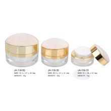 Empty Acrylic Cosmetic Cream Jars