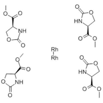 Rhodium,bis(acetonitrile)tetrakis[m-[methyl 2-(oxo-kO)-4-oxazolidinecarboxylato-kN3]]di-,( 57278780,Rh-Rh), stereoisomer CAS 167693-36-9