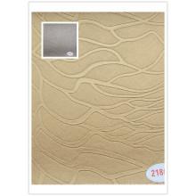 Material de couro de PVC para capa de sofá e uso de cadeira com boa qualidade