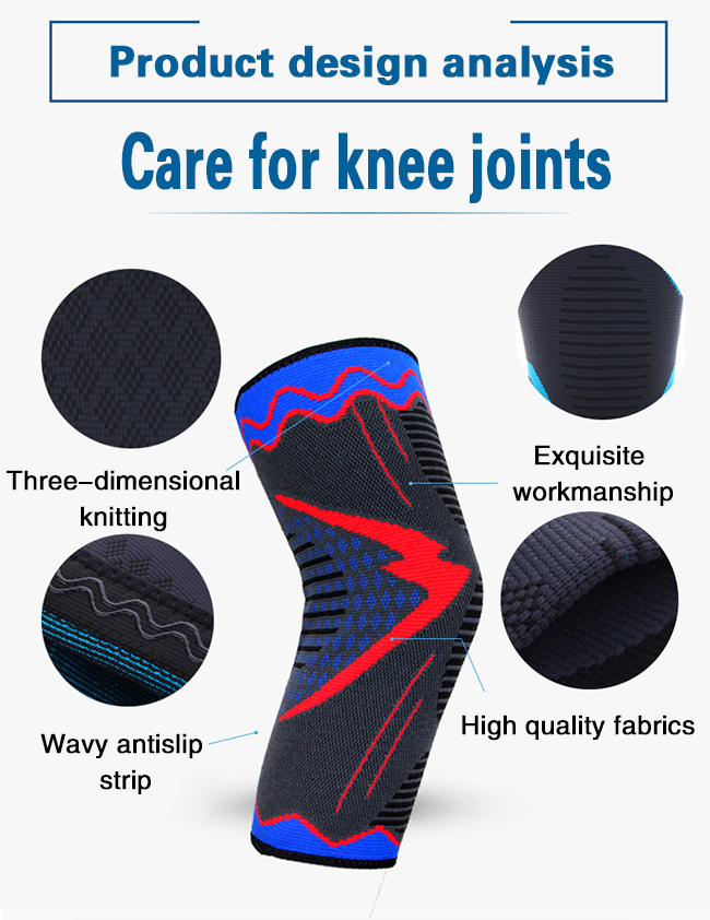 Private label knee brace support sleeve compression
