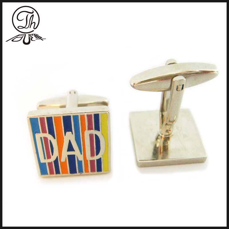 Cufflinks in zinc alloy jewelry