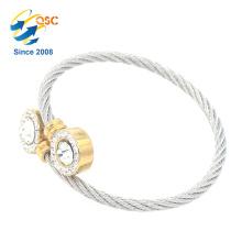 En gros Dernières Design Filles Cadeau Charme Métal Bracelet Personnalisé