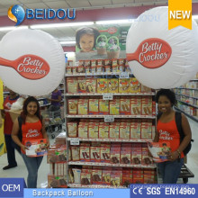Décoration Publicité Ballons PVC Walking Lighting Balls Gonflable Backpack Balloon