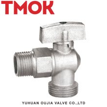 chromed plated brass function bathroom and kitchen angle valve