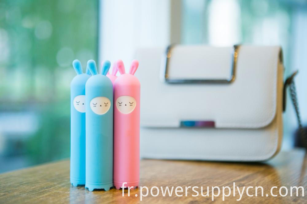 Lovely Cartoon Design Promotion Gift Power Bank 2200mah 2400mah 2600mah