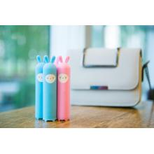 Lovely Cartoon Design Gåva Power Bank 2200mah 2400mah 2600mah Promotion Power Bank Laddare