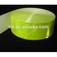 High Gloss, Fluorescent Yellow Tape for Safety Garment, ANSI/ISEA 107 Level 2 RT-PVCL2-FLY