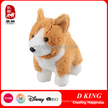 China Factory Custom Plush Toy Corgi Dog Stuffed Animal Toy