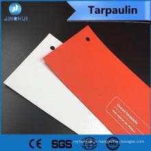 toutes sortes de poids 740g / 510g / 440g bâche enduite de PVC utilisée pour tendre ou quelque chose d'autre doit protéger