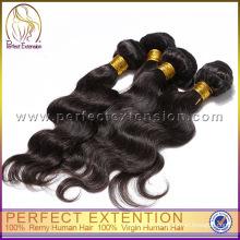 необработанные тела волны бразильский волосы, мир лучший волос