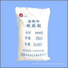 Sulfato de bario super fino (barita) (malla 3000)