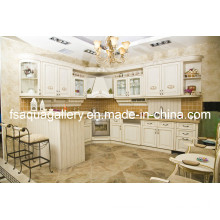 Classical Wooden Kitchen Cabinets (AGK-018)