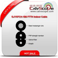 China fornecedor de alta qualidade Gjyxfch-1b6 FTTH cabo de fibra óptica interior