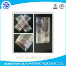 Saco plástico transparente do gusset lateral para a embalagem