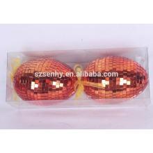 oeufs de pâques en papier fait main à la main à la vente