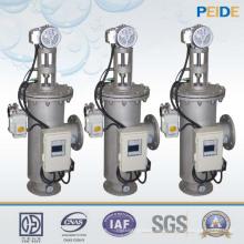 80-500 Mikron automatischer Wasserfilter Selbstreinigungssieb