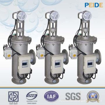 20-900t / h máquina de filtro de agua automática de pantalla