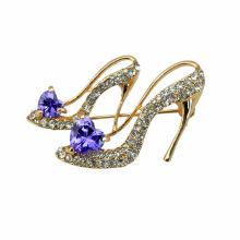 Broche de diamantes de imitación VAGULA moda zapatos de tacón alto