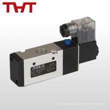 12v dc lucifer válvula de controle de solenóide de 3 vias para gás de ar