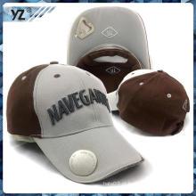 Promocional garrafa openner boné de beisebol profissional chapéu personalizado