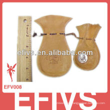 2013 Bolso de moda del terciopelo de madera (la muestra libremente)
