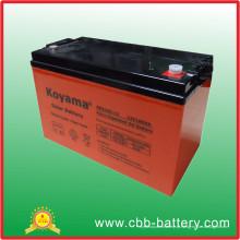 Bateria de armazenamento profunda da bateria 12V100ah do ciclo do gel