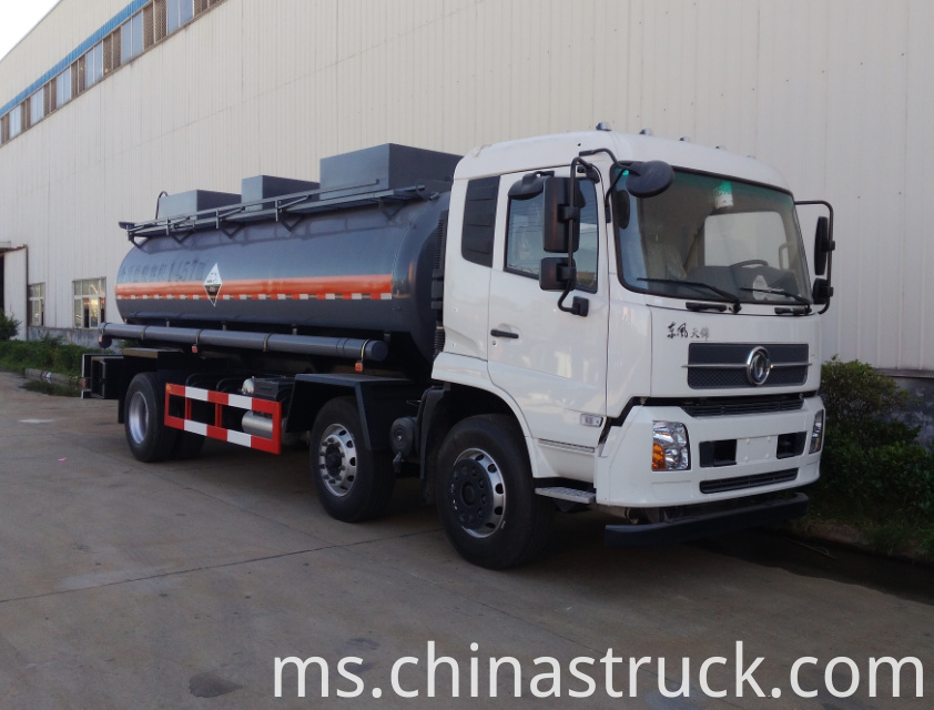 Dongfeng 6x2 20Ton chemical tanker