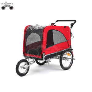 16' wheels-quick release PE pet cargo bike trailer