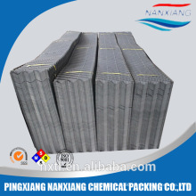 PVC Fill for Square Cooling Tower infill in plastic sheet(1000*500mm)