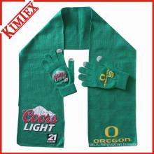 Трикотажные перчатки Зимние шарфы