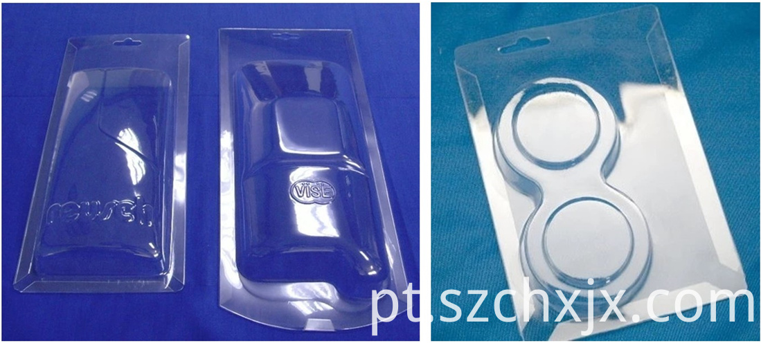 Blister folding machine moulds and samples