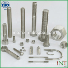 standard high quality metal Hardware Fasteners carbon steel screws bolts nuts