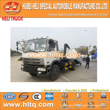 DONGFENG 4x2 10tons 190hp roll-off refuse truck cheap and fine factory direct