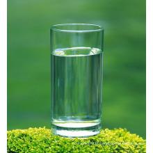 Copo de vidro impresso da tela de seda para o chá (TM2019)