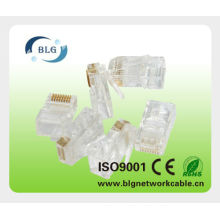 RJ45 male-female connector for network cable