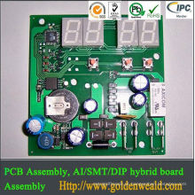 single sided pcb assembly one-stop LED light PCB assembly for Aircraft security application OEM production