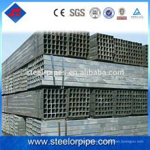 Los nuevos productos calientes que venden el tubo recto del cuadrado de acero de los productos