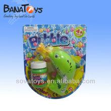 Baterias de plástico operado bolha golfinho bolha brinquedos bolha arma
