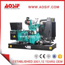 Small green diesel engine used generator