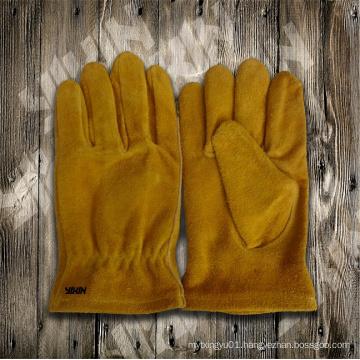 Cow Split Leather Glove-Working Glove-Safety Glove-Leather Glove-Children Glove