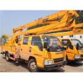 Véhicule aérien de camion de plate-forme de travail de haute altitude de 16m