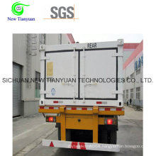 High-Pressure CNG Tube Jumbo Cylinder Semi Trailer for Gas Transportation