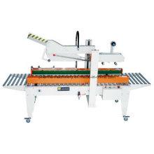 Máquina seladora de caixas de papelão semi-automática e automática