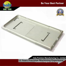 iPhone Shell CNC Aluminum Parts Silver Anodized CNC Parts