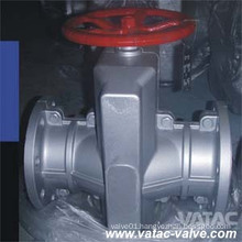 Handwheel Operated Flanged Manual Pinch Valve