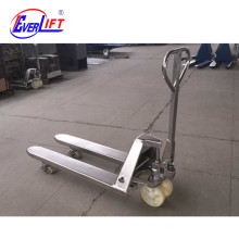 2ton 2.5ton 3ton Scale Stainless Steel Hand Pallet Truck for cold room