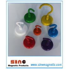 Crochet magnétique permanent NdFeB résistant à la couleur