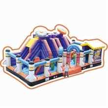 Space Themed Inflatable Fun City Amusement Equipment Supply